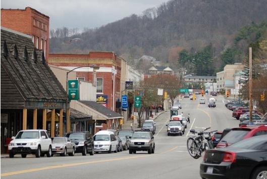 Downtown Boone, NC - Appalachian State University
