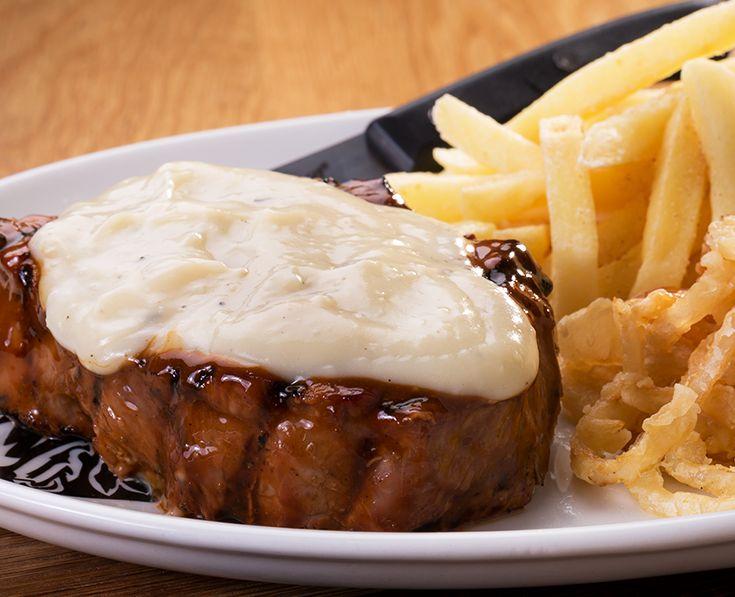 Garlic Fillet: Succulent fillet, topped with creamy garlic sauce. https://www.spur.co.za/menu/steaks/