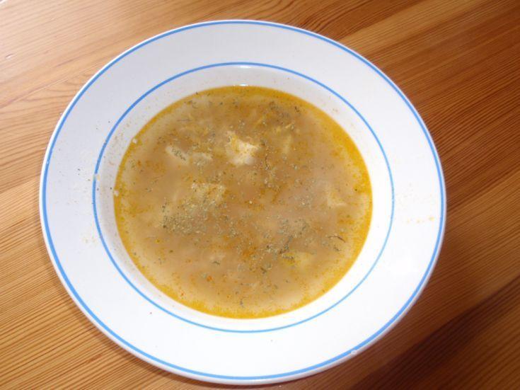 Rýchla vajcová polievka