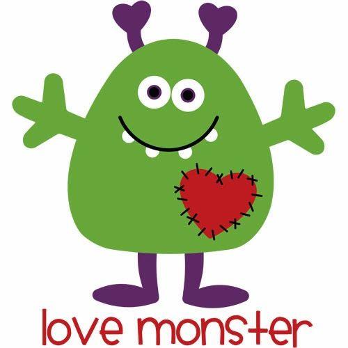 Burton Avenue: Freebie Friday - Love Monster