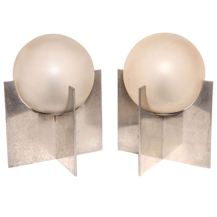Pair of French Art Deco Table Lamps by Boris Lacroix   From a unique collection of antique and modern table lamps at https://www.1stdibs.com/furniture/lighting/table-lamps/