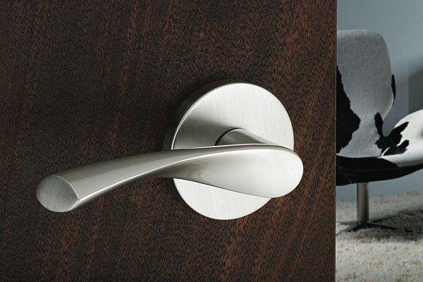 Emtek hardware sleek modern door handle door hardware - Contemporary interior door knobs ...