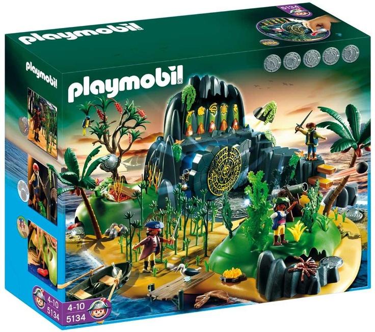 Ile mystérieuse des pirates #playmobil #noel #pixmania