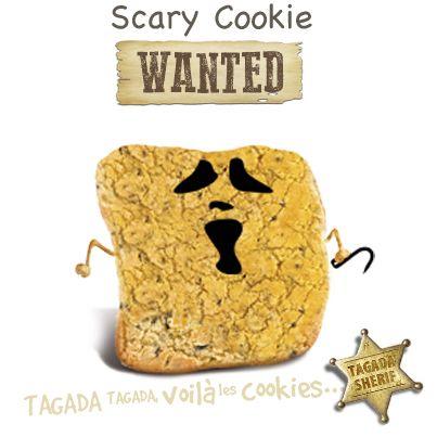 Tagada, tagada, je claque des dents tellement j'ai peur. Y a-t-il quelqu'un de courageux pour capturer Scary Cookie ?  Capturez-le sur : http://www.tagadavoilalescookies.com/login-scarycook7060ie.html