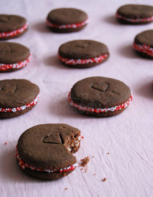 Zachte chocolade koekjes