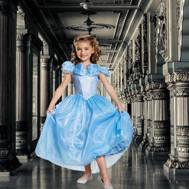 Little Adventures Deluxe Cinderella Costume: 17 Best Images About Cinderella Birthday Party Ideas On