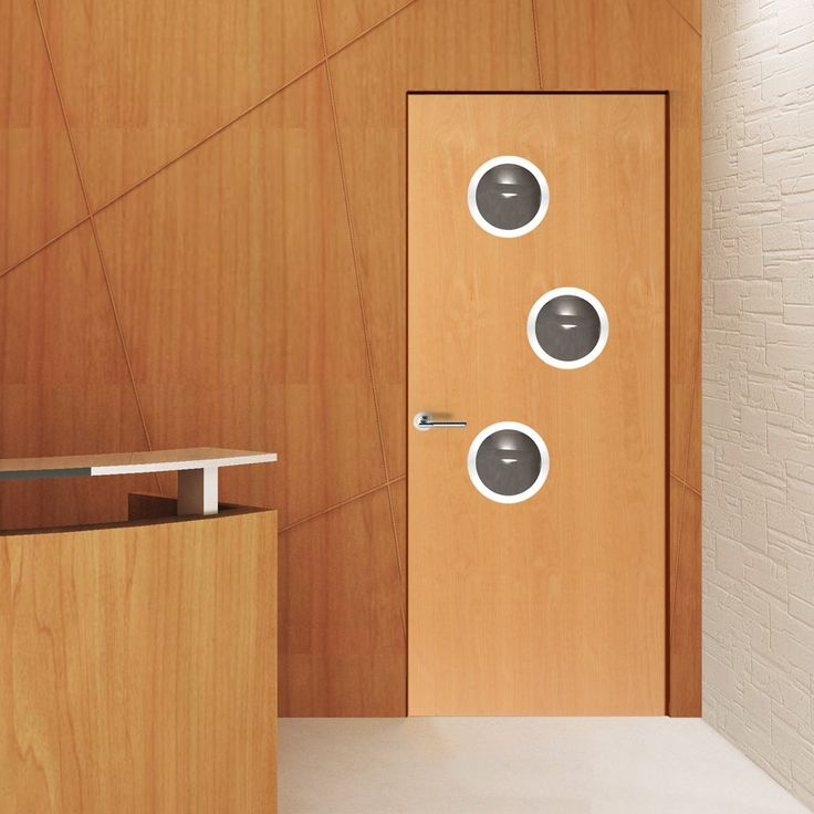 JBK Porthole 3 SP Beech Door Pre-Finished & 58 best Office door with glazed portholes. images on Pinterest ...