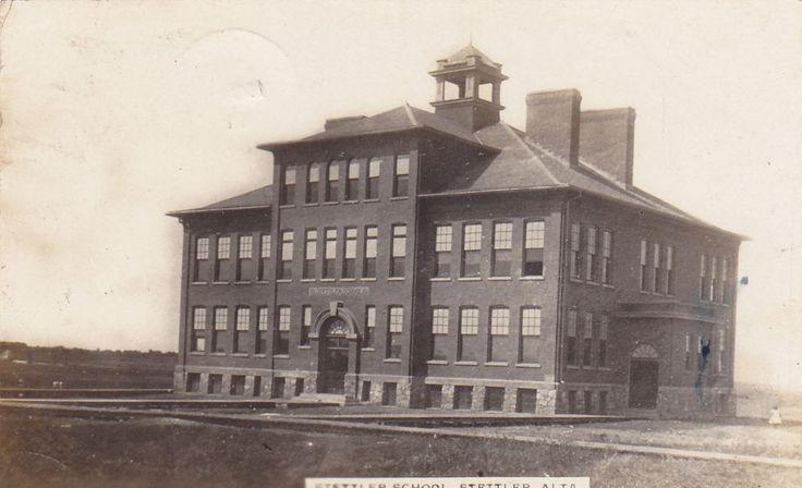 RP; School , STETTLER , Alberta , Canada , PU-1911