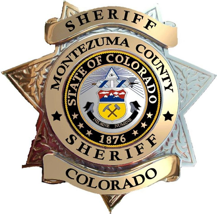 Montezuma County Sheriff,  more at www.PoliceHotels.com
