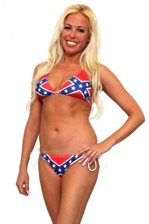 Rebel Flag 2-Piece Bikini  10% off with TWITTER03 at checkout!!