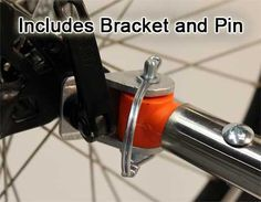 bicycle trailer hitches