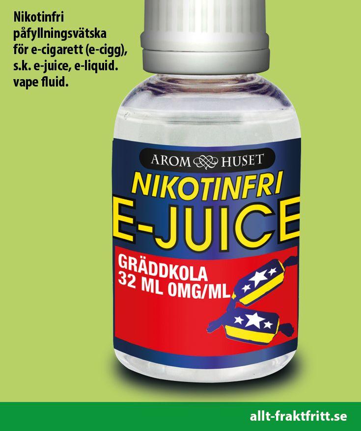Nikotinfri E-juice Cream Carmel 32ML