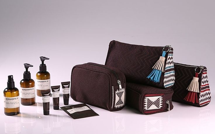 Airline amenity kits: looking the part in first class (from the Telegraph).
