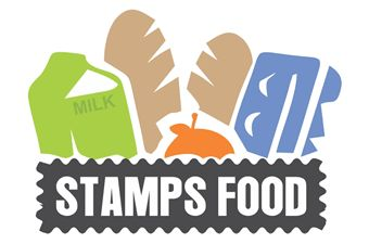 Stamps Food  Attractive Logo Designed.