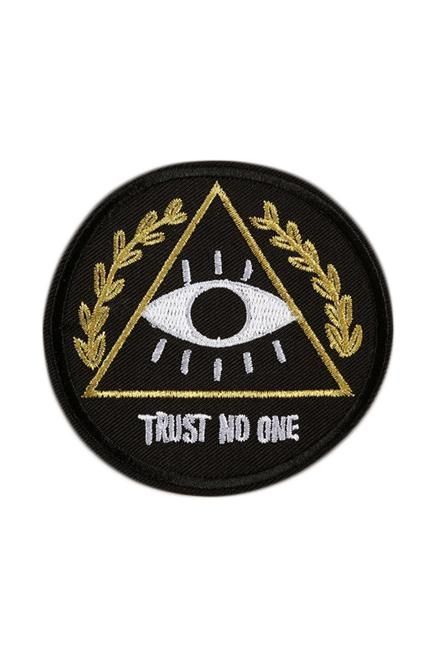 Standard Goods Patches Triangle Eye Trust No One