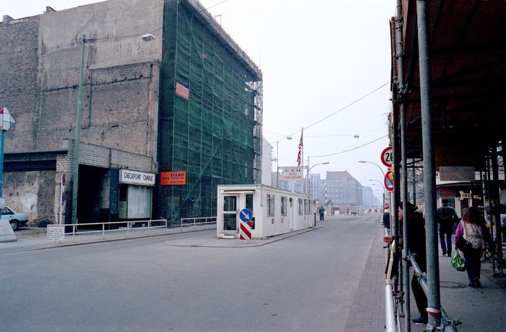 Checkpoint Charlie The Real One In 1985 West Berlin Berlin Wall Berlin