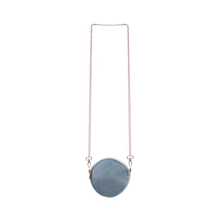 Roundie Cross Body Bag - Vixen, Ice Blue