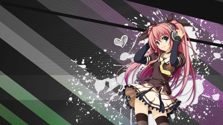 Anime Wallpaper 1366x768