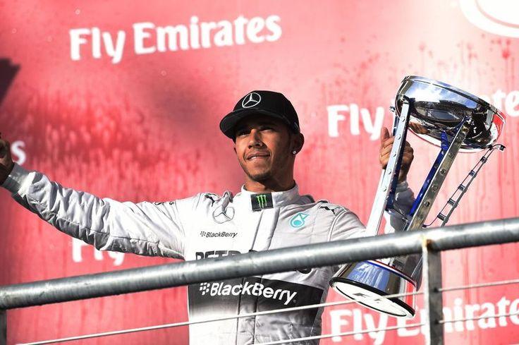 Lewis Hamilton (Mercedes) vainqueur du grand prix des USA 2014
