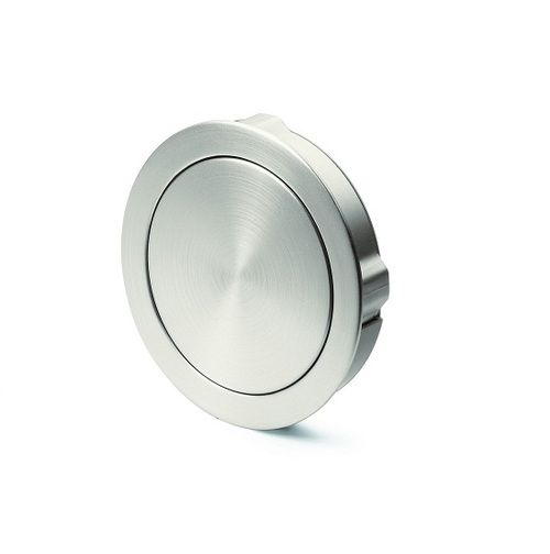 Hettich Prodecor Touch In Circular Flush Cabinet Handle   Polished Chrome.  Hallway StorageCampaign FurnitureCabinet ...