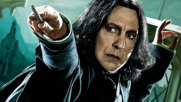 As we mourn the loss of actor Alan Rickman, we can't help but look back and see just how perfect the actor was as Severus Snape in the  Harry Potter  movies.