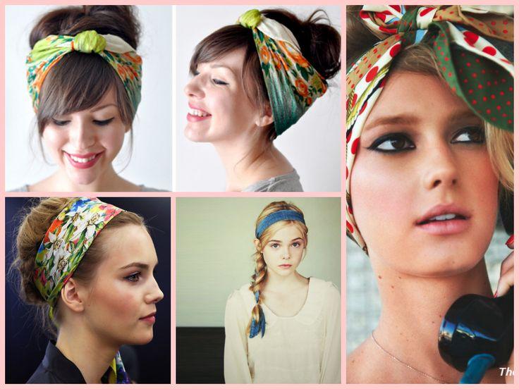 Fabuleux 61 best Idée coiffure avec foulard cheveux images on Pinterest  PI69