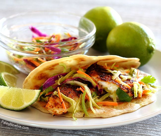 126 best me gusta comer images on pinterest healthy for Fish taco recipe