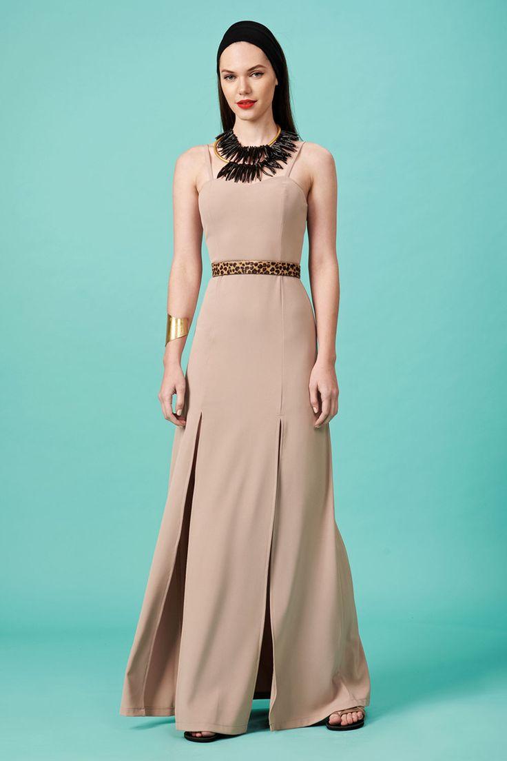 Forever Young : Φόρεμα τιραντάκι με δύο ανοίγματα (FY1011)