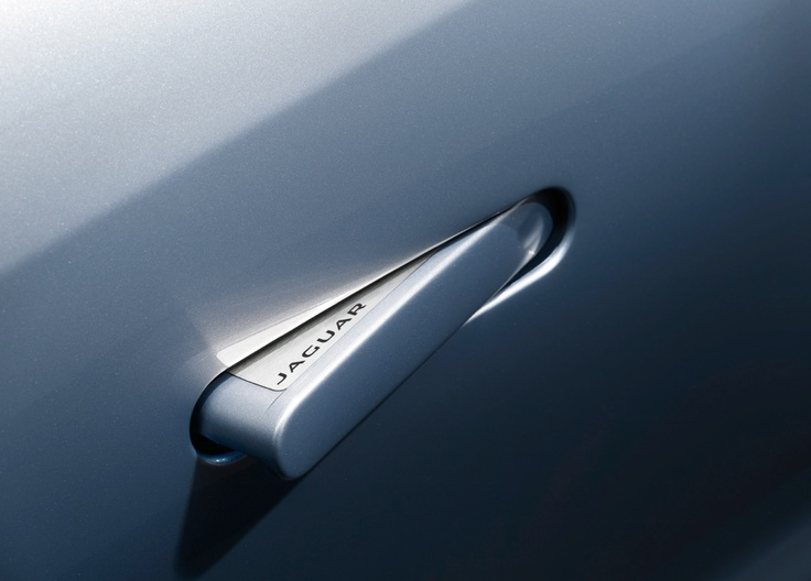 Jag car handle