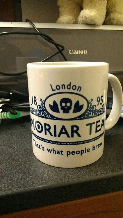 "Moriar Tea   ""That's what people brew""  Sherlock mug << I need one. :)"