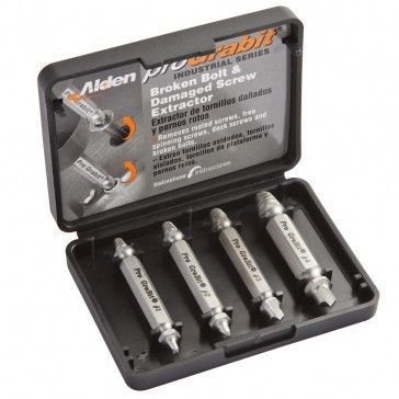 Pro Grabit® Pro-Grade Screw and Bolt Extractor. Set of four Grabit bits can remove a wide range of damaged screws and bolts. Holiday gifts between $20 and $50
