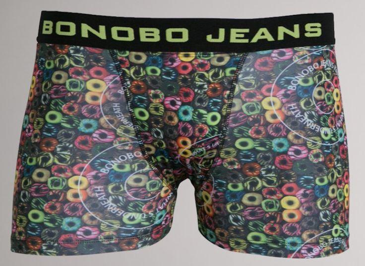 Boxer homme Bonobo print donuts multicolores beige tabac 4,00 € livré le moins cher