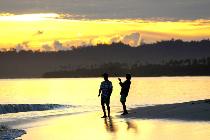 Sunset Fishing Sessions. . . Sumatra, Indonesia