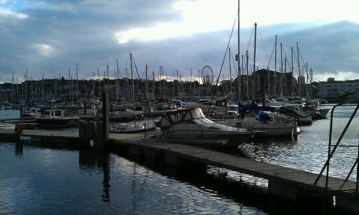 Sutton Harbour in Plymouth, Devon