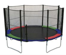 13ft trampolines with foam pit for sale and round trampoline pad fitness outdoor activities for kids