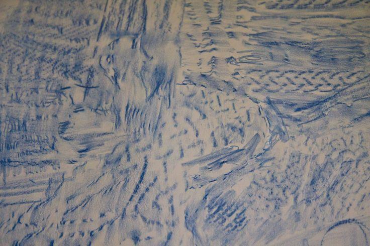Day 7 Blue Rubbing