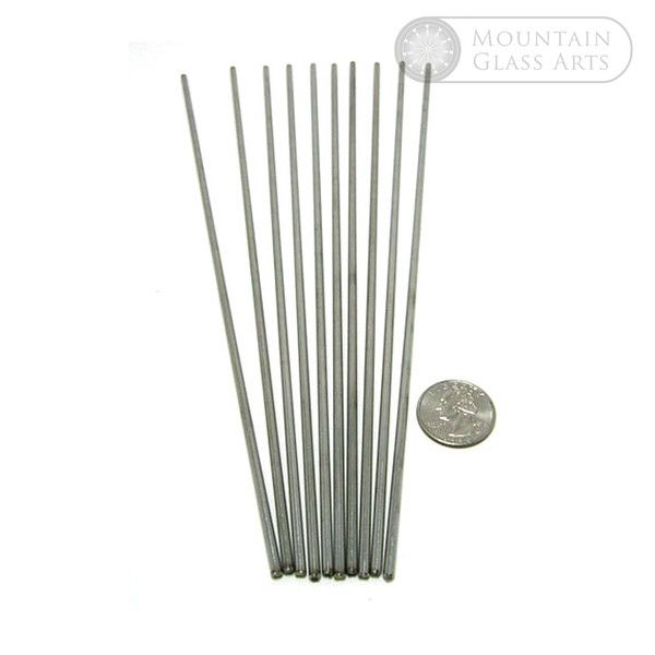 1 8 X 10 Mandrel Pack 10 Pcs Stainless Steel Rod 10 Things Steel Rod