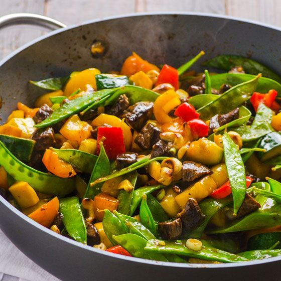 Healthy Beef and Cashew Stir Fry | I Food Real