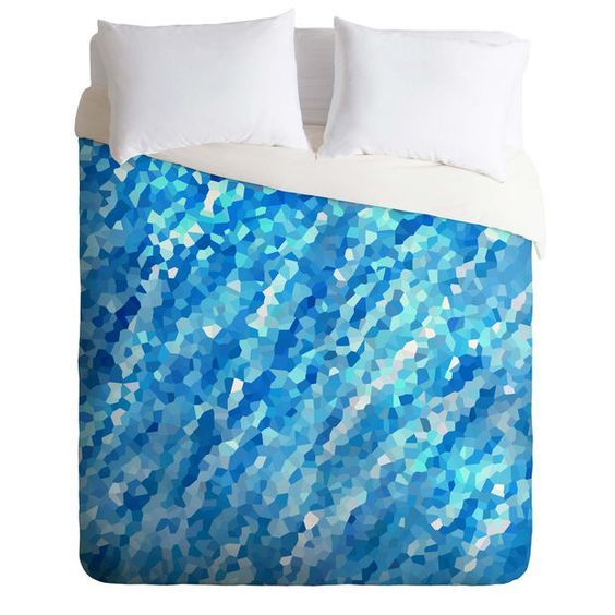 Rosie Brown True Blue Duvet Cover