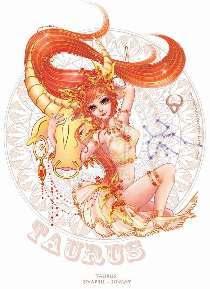 Anime Taurus woman. Get detailed info about Taurus Traits & Personality @ http://www.buildingbeautifulsouls.com/zodiac-signs/western-zodiac/taurus-star-sign-traits-personality-characteristics/