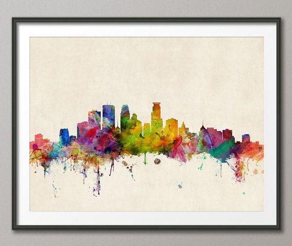Best 25 Minneapolis Skyline Ideas On Pinterest Red
