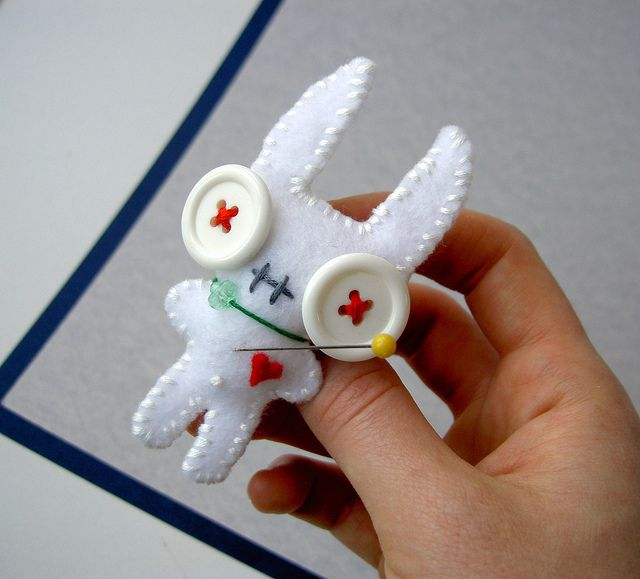 voodoo bunny by protean crafts  :)