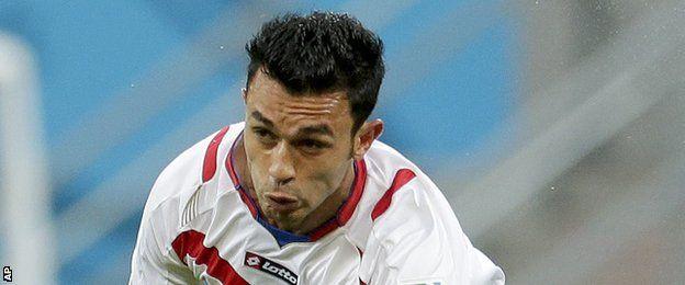 Costa Rica defender Giancarlo Gonzalez