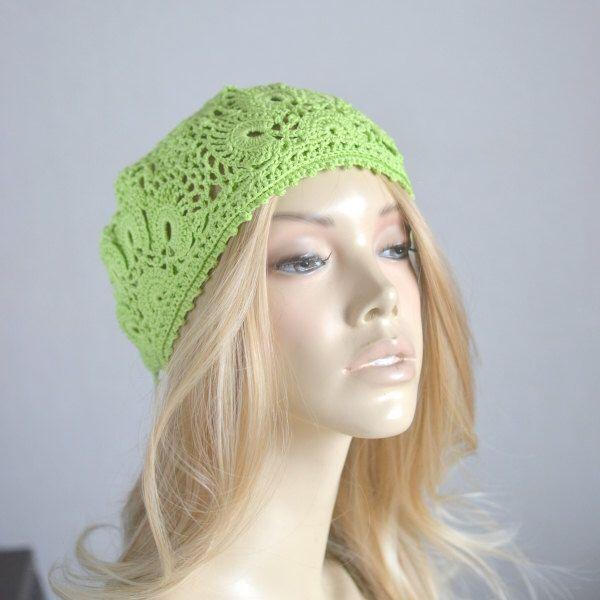 Crochet hat Womens hats Crocheted hats Crochet beret Ladies hats Crochet hat women Summer hats Summer beanie Crochet lace hat French beret #crochetberet #crochetedhats #ladieshats #crochethatwomen #summerhats