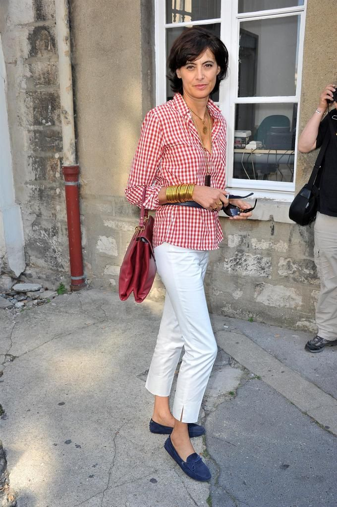 Ines de La Fressange ~ she is over 50 and SoAgeless!