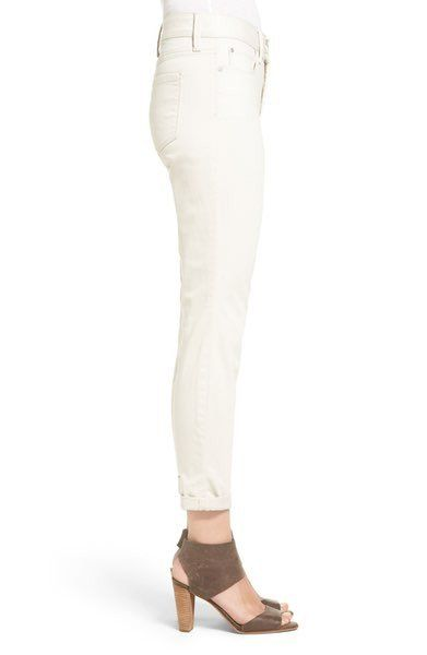 NYDJ Convertible Ankle Jean reveals the nice slim leg. The Petite Alternative