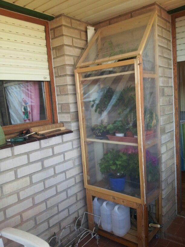 Las 25 mejores ideas sobre invernadero casero en pinterest for Como iniciar un vivero en casa