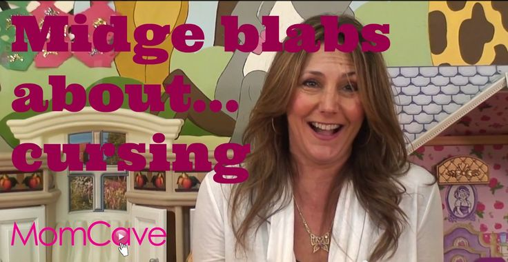 Midge Blabs About Kids Cursing | BLABBERMOM | Ep18 | Asshole | MomCave TV