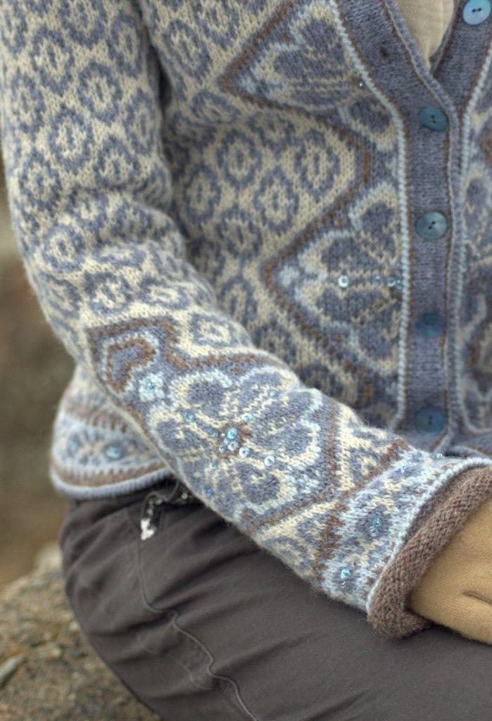 Morgendis kofte | Garnpakker med strikkeoppskrifter fra Sidsel J. Høivik