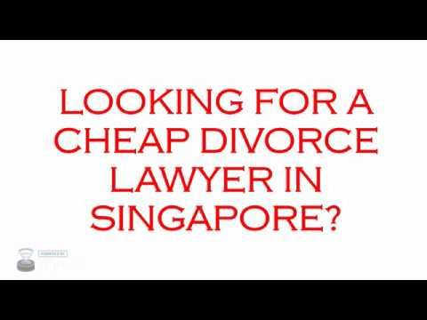 Cheap Divorce Lawyer Singapore - Call 9001 0403